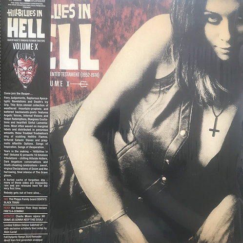 Hillbillies In Hell - Country Music's Tormented Testament (1952-1974) Volume X