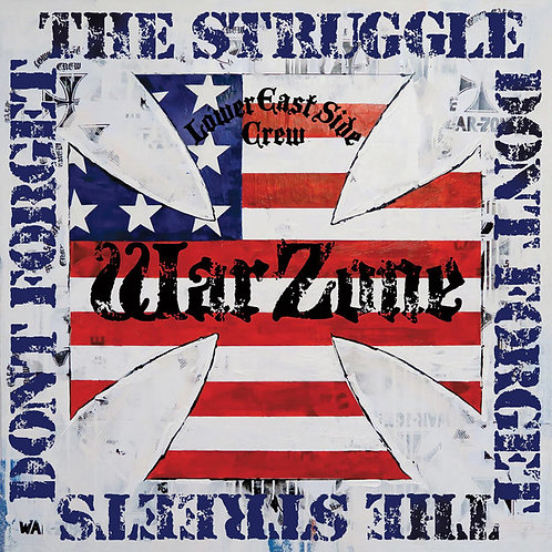 Warzone - Don't forget the struggle Don't forget the stress - Red vinyl