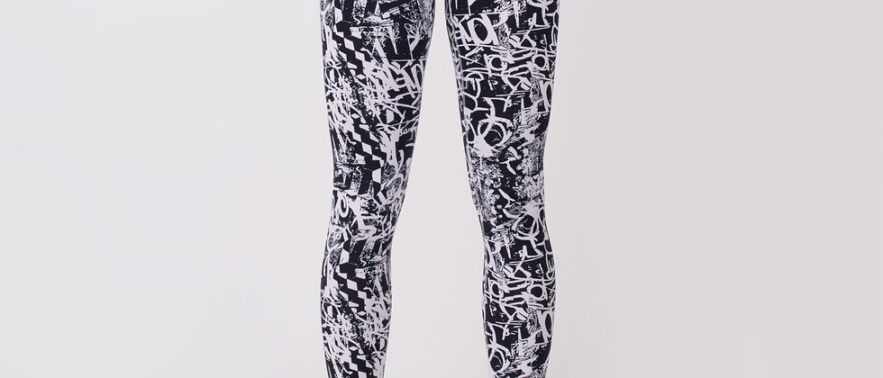 Brooklyn Grafitti Performance Pant, black