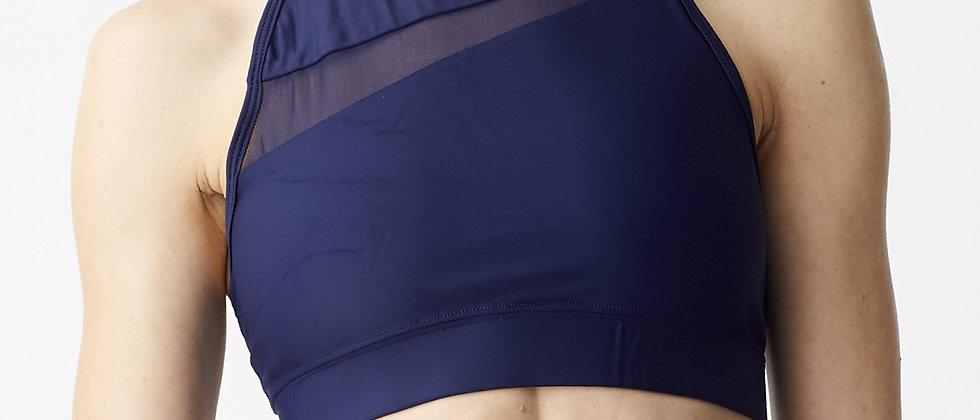 Sport bra with mesh