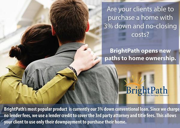 3 Percent Down No Closing Costs Alternat