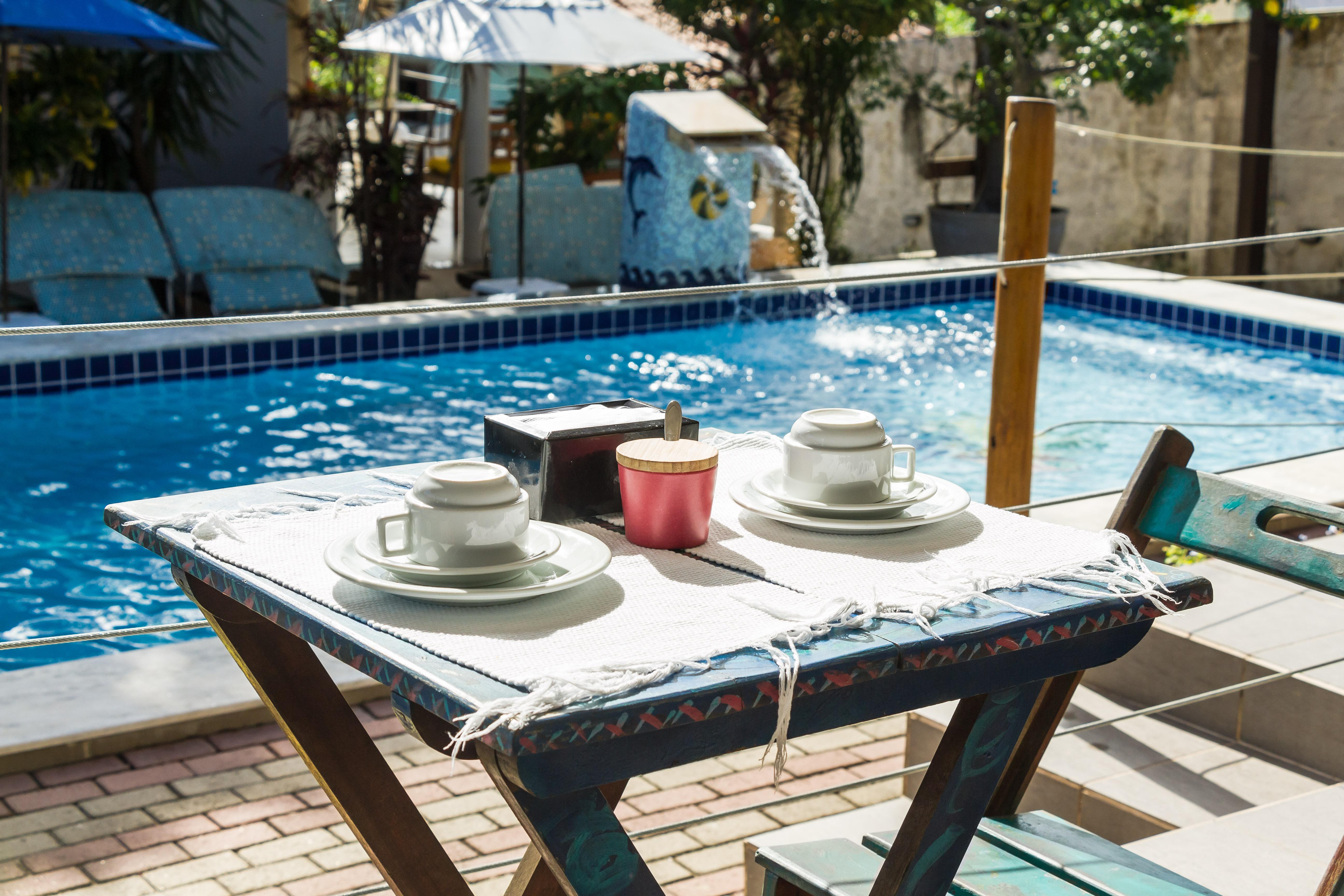 cafe piscina