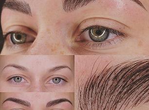 Najade wenkbrauwen permanente make-up pm
