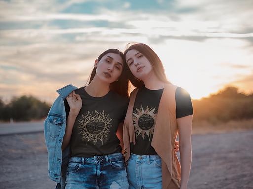 Boho Sun | Digital File Gold | DIY Print