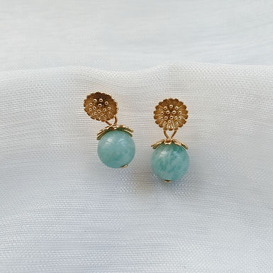 Labrodite Stone Earrings