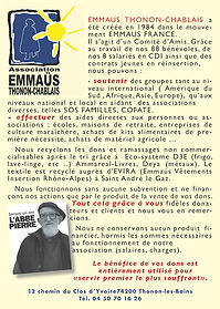 Emmaus thonon chablais