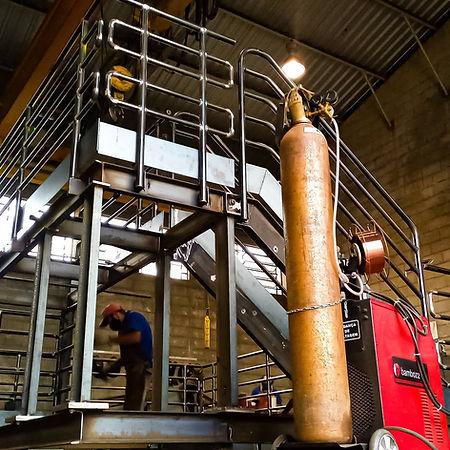 Estrutura metálica - Escada