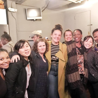 Cast of Tonya Pinkins' Truth and Reconciliation: Womyn Working it Out!