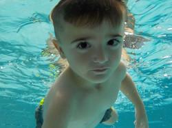 Cam under water