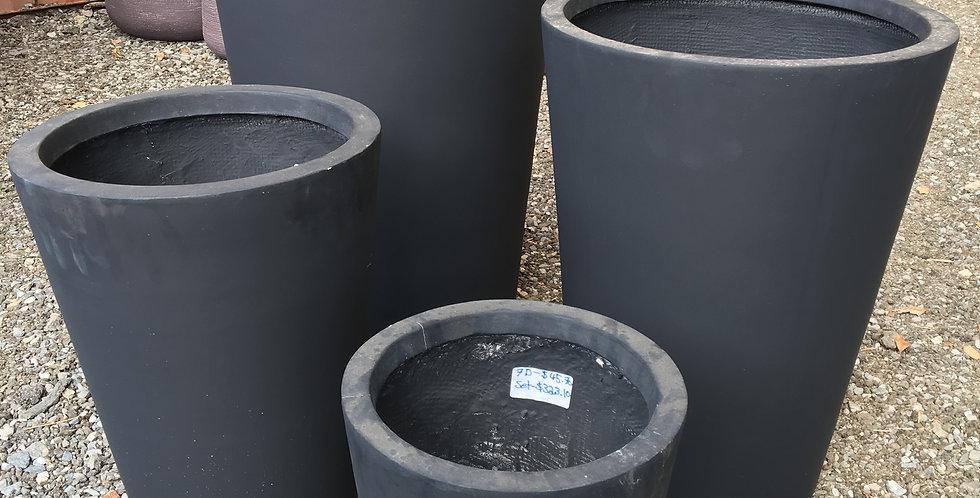 Sunnydene Tapered Round Planter Fibreglass Pot