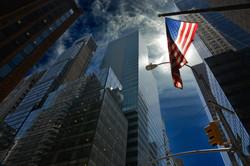 New York - Ciel inquiétant non loin de la... Trump Tower. Etonnant, non ?