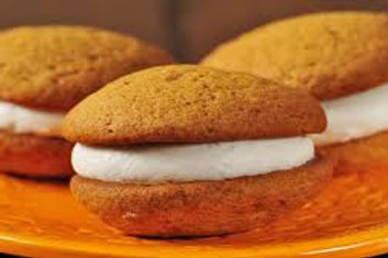 Pumpkin With Cinnamon Buttercream Icing Whoopie Pie