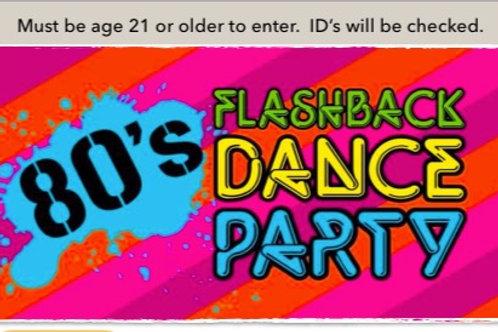 80's Dance Tickets