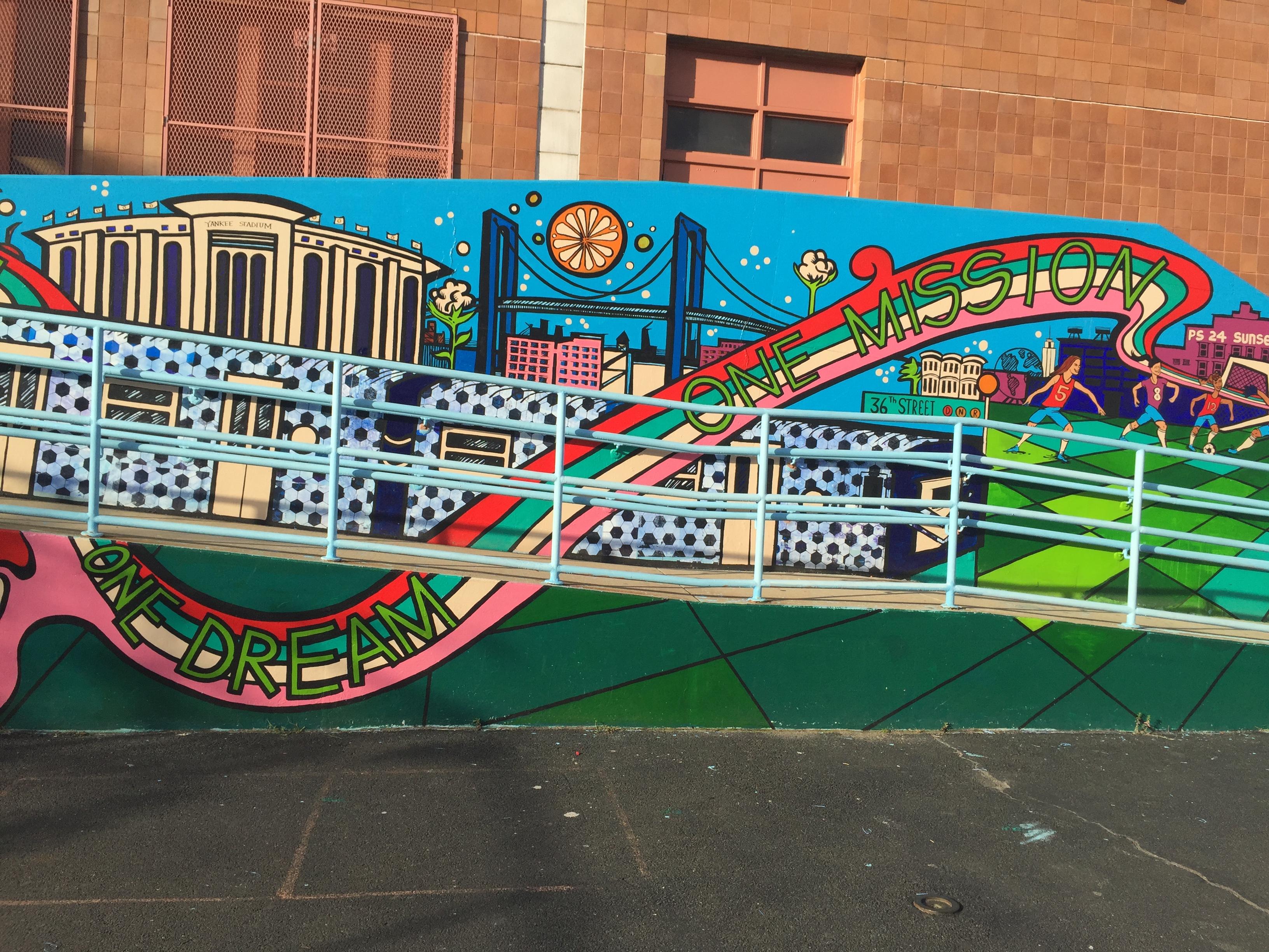 One Team Mural