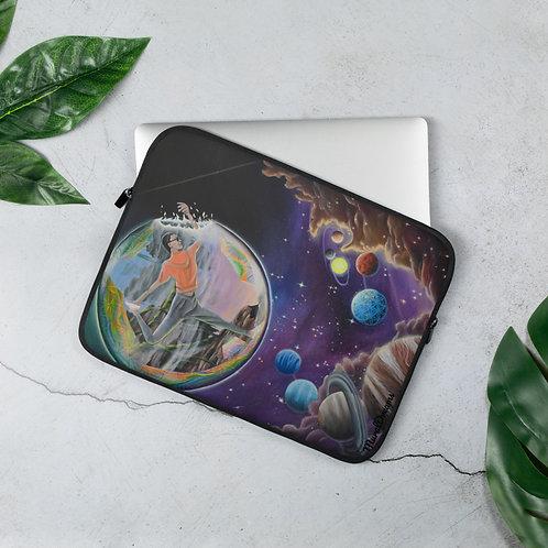 """Cosmic Yoga"" Laptop Sleeve"