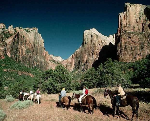 Horseback Riding Zion