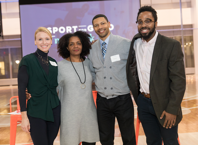 SPORT FOR GOOD NYC LAUNCH AT NIKE HQ