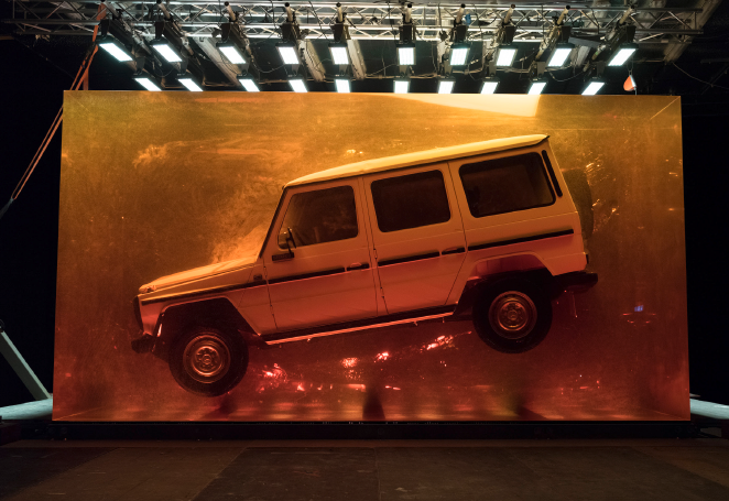 "The G-Class Is ""Stronger Than Time"""