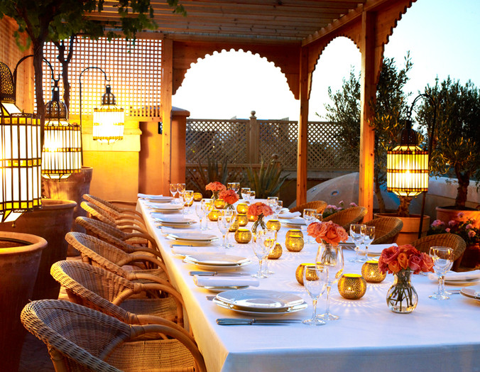 Dine at L'Hotel Marrakech