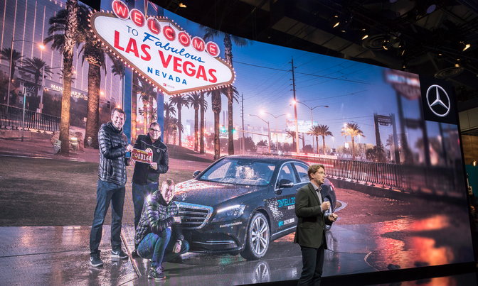 Tech Report: Autonomous Driving at CES 2018