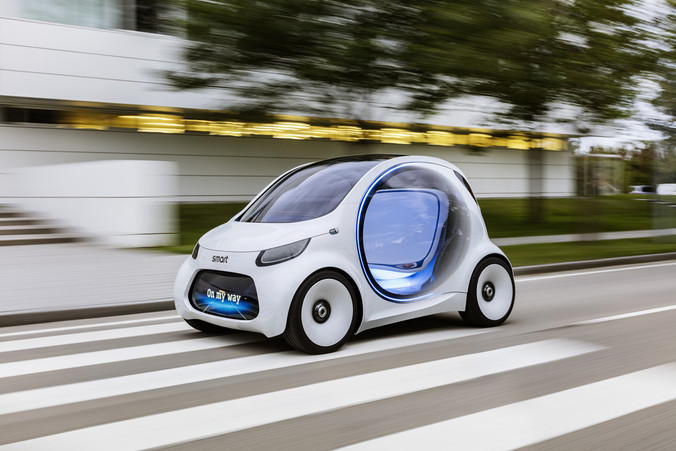 The smart vision EQ fortwo