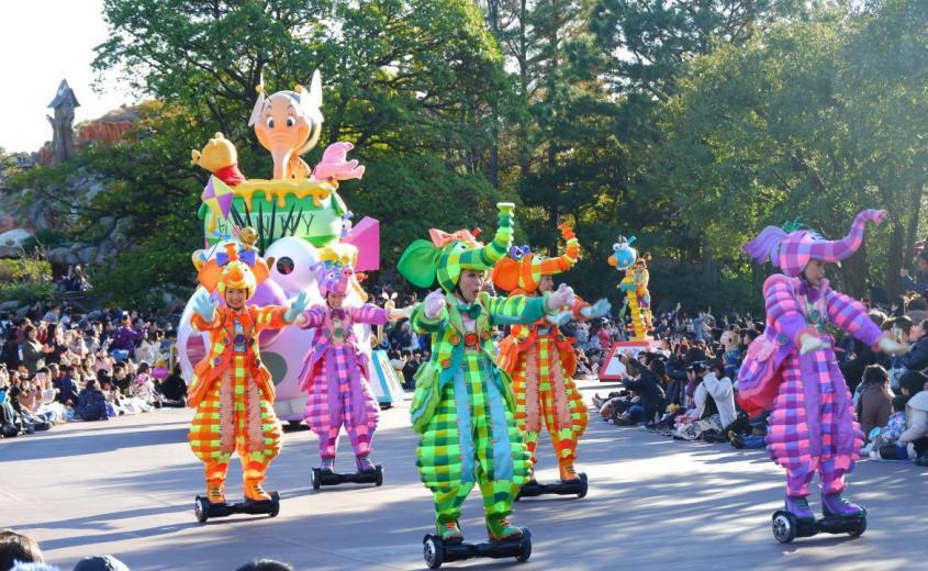Disney's Character Parade