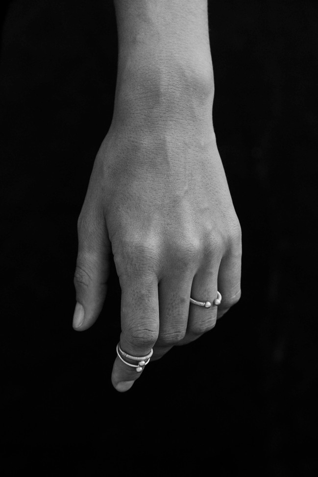 Ring Ara 160€ Ring Gemma 140€ Gold Plated Brass or Silver