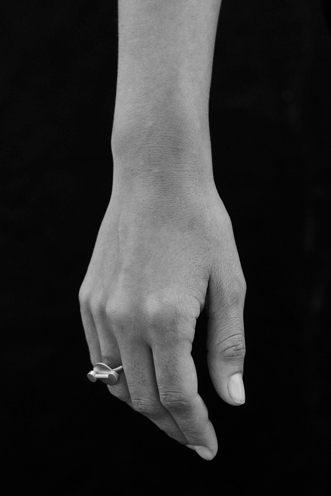 Ring Segin 200€ Gold Plated Brass or Silver