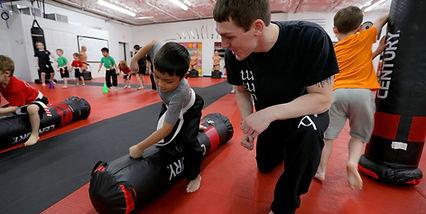 Warriors Kids Punching Bag.jpeg