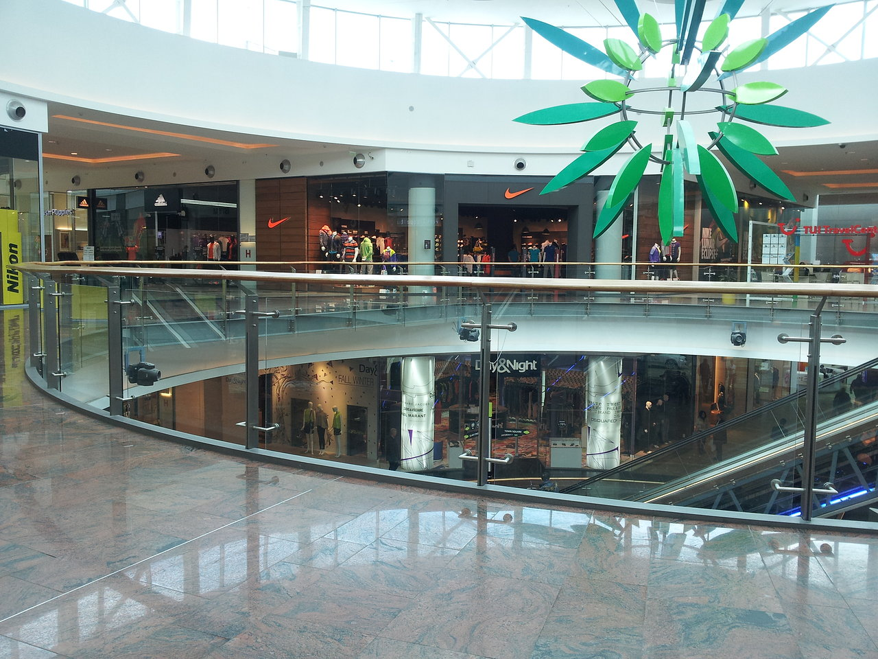 Balustrada Baneasa Mall