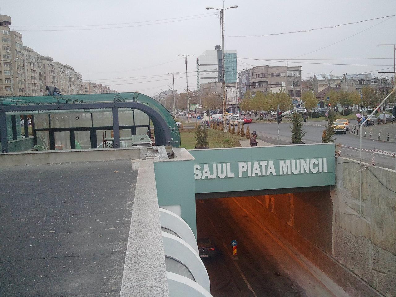 amenajare statie metrou