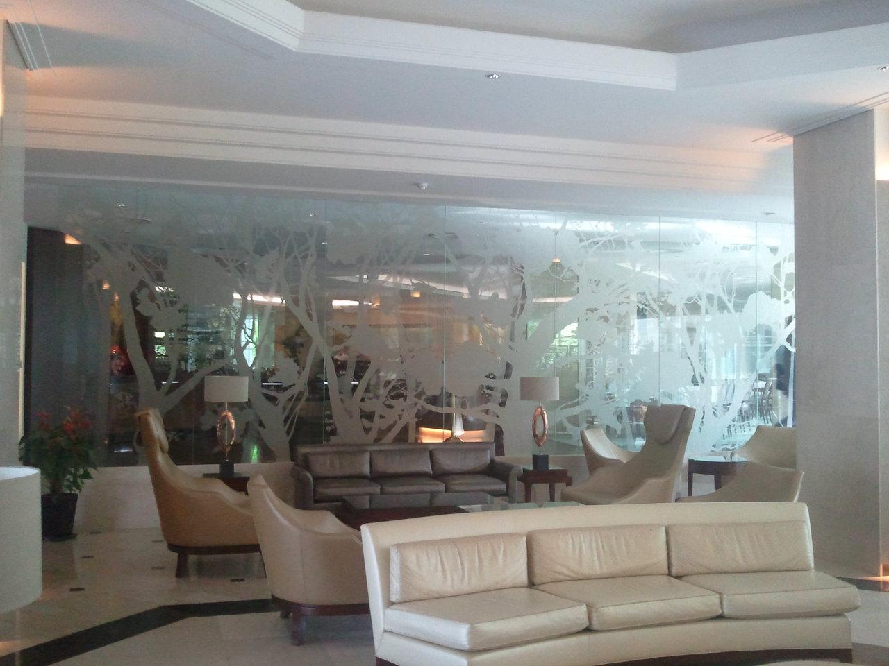 geam gravat