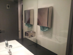 Oglinda si geam color