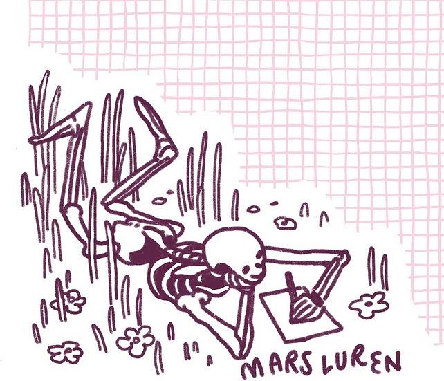 Skeleton Buddy Stationary (just lines)