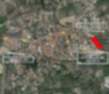 Vue Google Earth - Lotissement Pézilla La Rivière