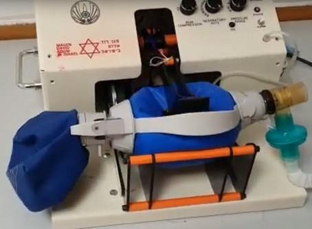 Respiradores Artificiales hechos en Israel