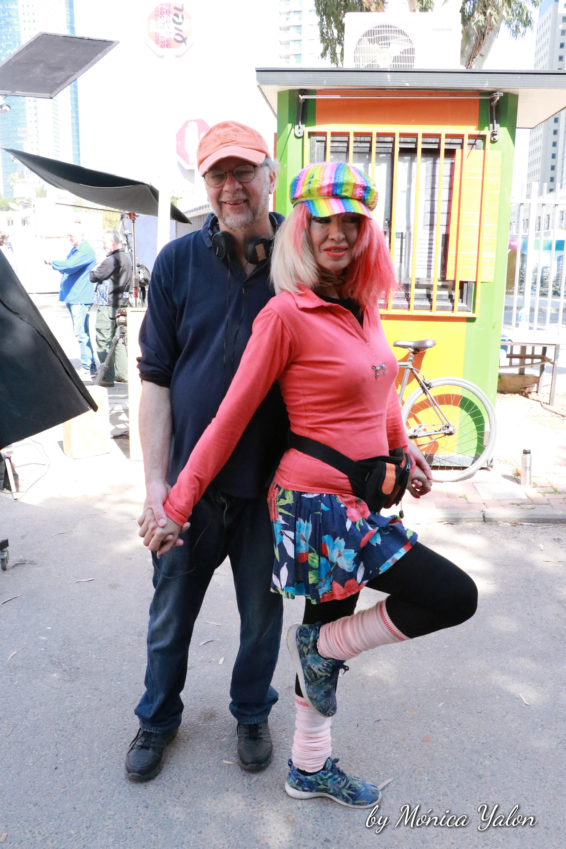 Victor Braun y la Actriz Anita P.