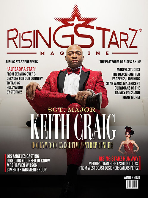 Rising Starz Sgt. Keith Cover