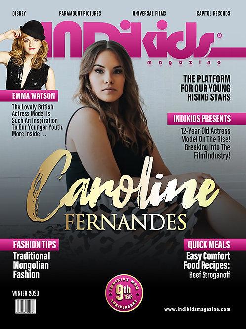 IDK Winter 2020 Issue Caroline Cover