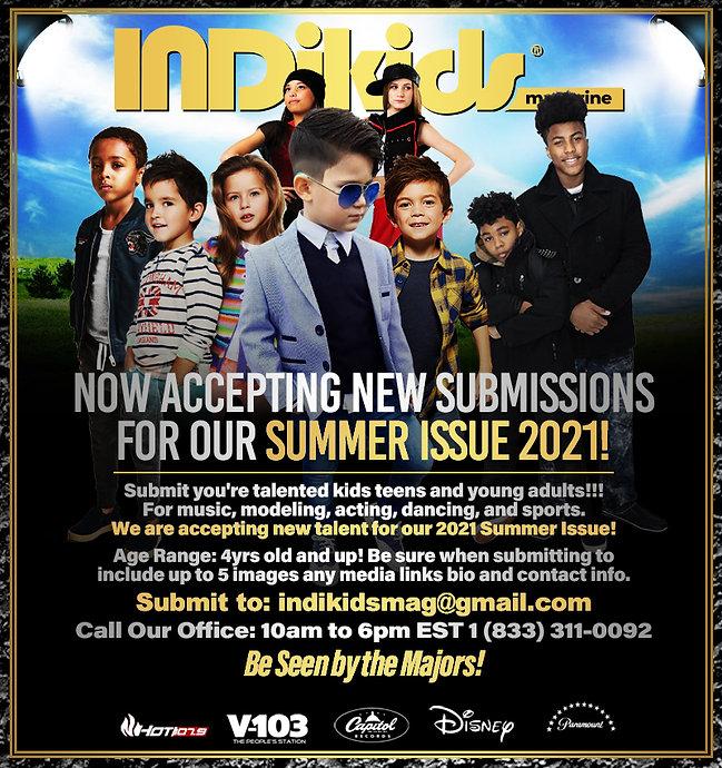 IndiKids Magazine Summer Advertisement