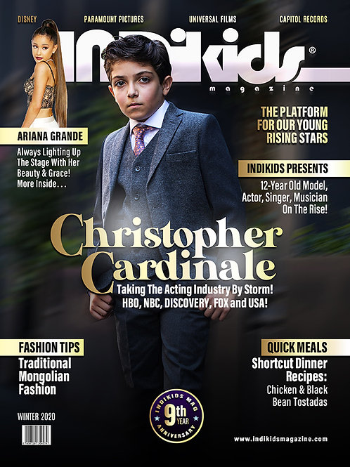IDK Winter 2020 Issue Christopher Cover