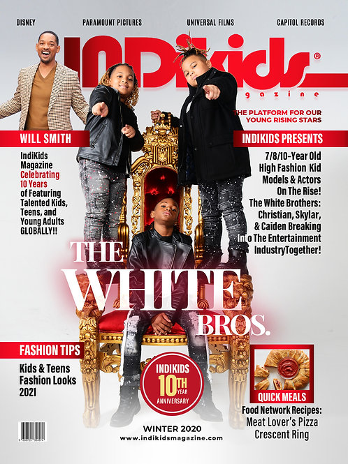 IDK Winter 2020 Issue The White Brothers Cover