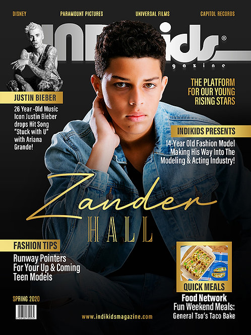 IDK Spring 2020 Issue Zandar Cover