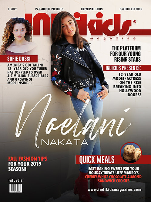 IDK Fall 2019 Issue Noelani Cover