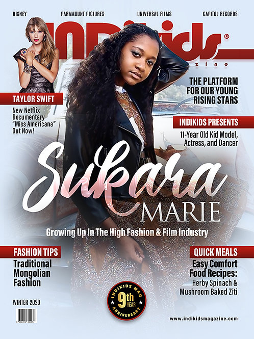 IDK Winter 2020 Issue Sukara Cover