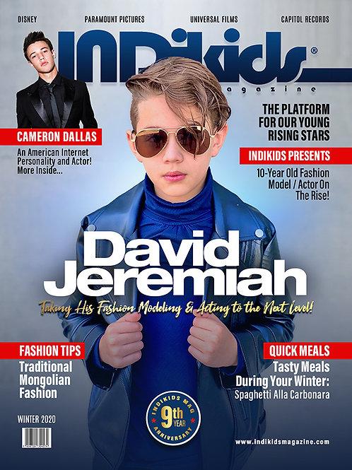 IDK Winter 2020 Issue David Cover