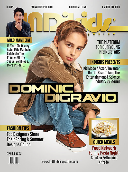IDK Spring 2020 Issue Dominic Cover