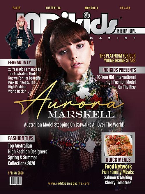IDK Spring 2020 Issue Aurora Cover