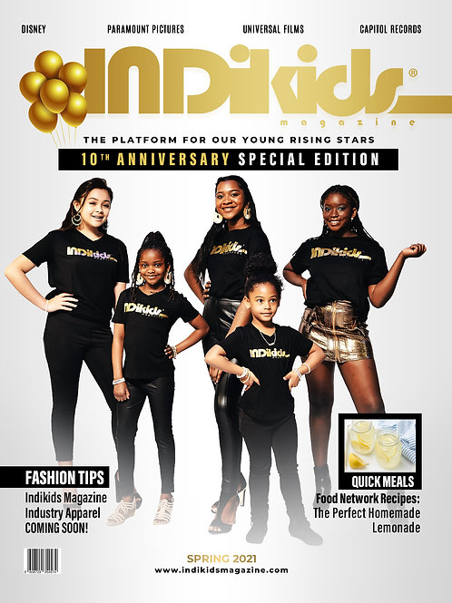 IDK Spring 2021 Issue 10th Ann Cover