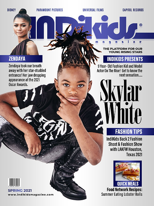 IDK Spring 2021 Issue Skylar Cover
